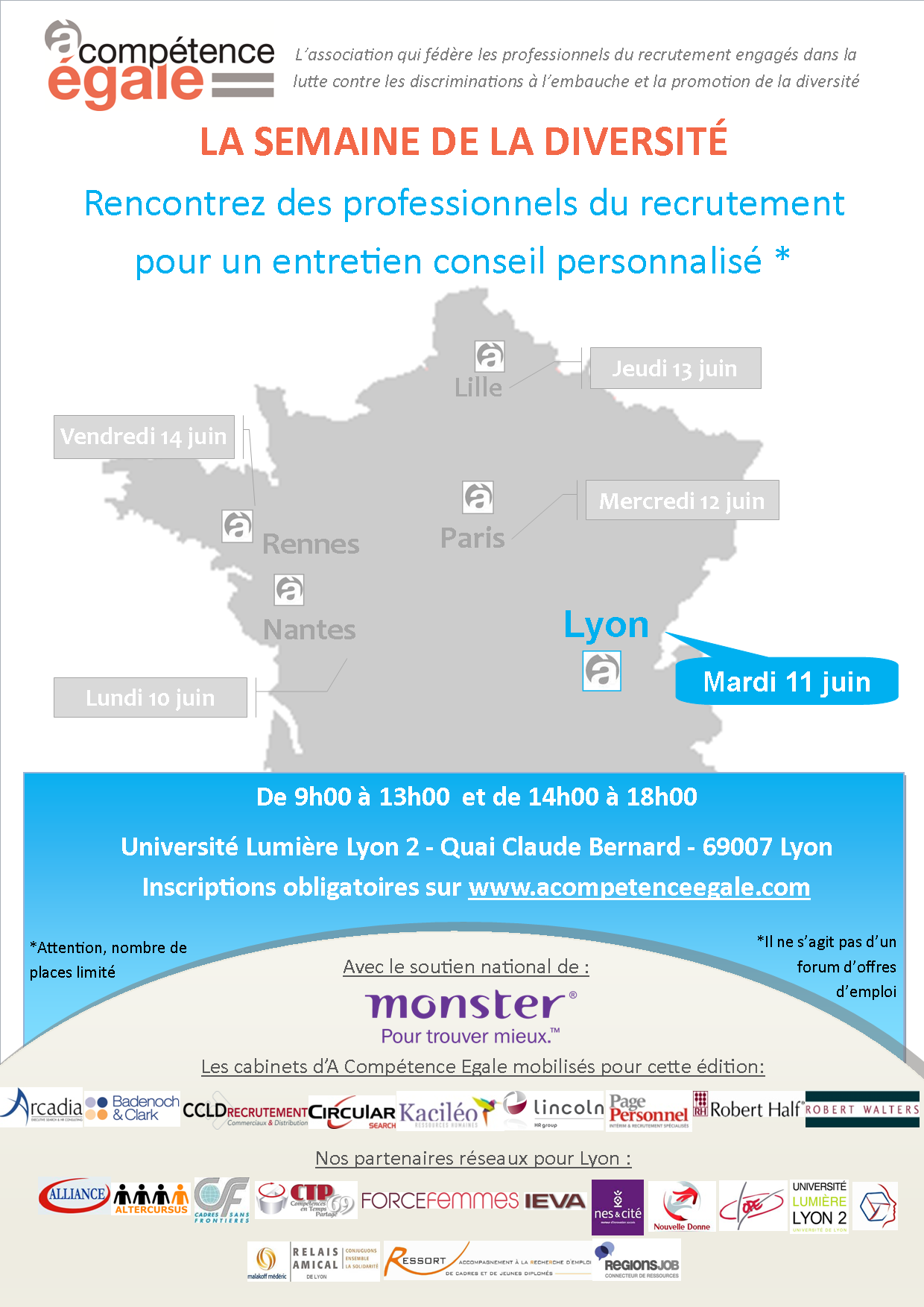 Journée Diversité Lyon Arcadia Executive Search
